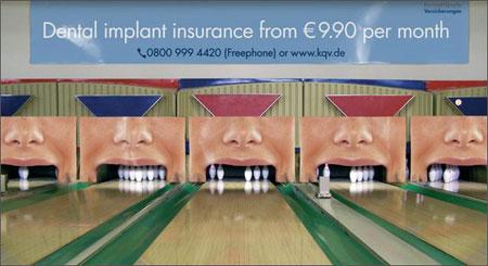 تبلیغات پارتیزانی بیمه ایمپلنت دندان