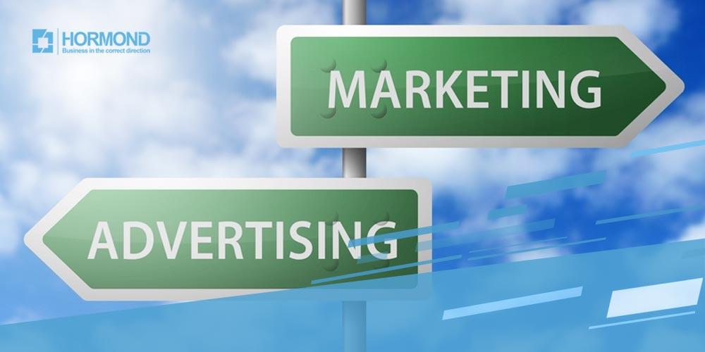 تفاوت مارکتینگ و تبلیغات