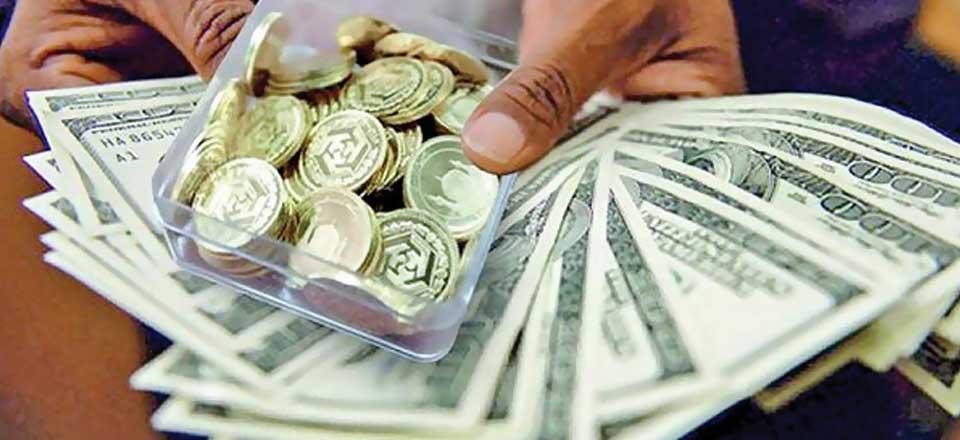 ریزش قیمت سکه و ارز